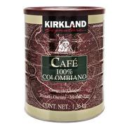 Café 100% Colombiano Kirkland Signature De 1.36 Kg