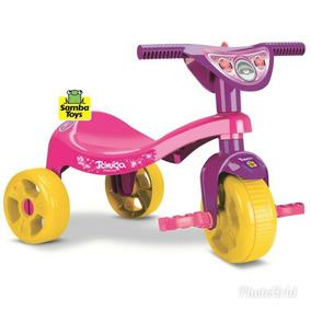 Triciclo Motoca Tchuco Infantil Menina Menino Diversão