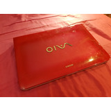 Laptop Sony Vaio Rosa - Windows 7, I3, 500gb Hd, 3gb Ram