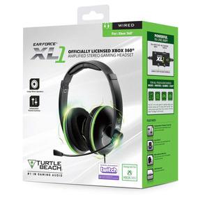 Audifono Comunicador Turtle Beach Ear Force Xl1 Xbox 360