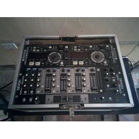 Combo Denon Cd Players Dn-d6000/mezclador Dn-x500