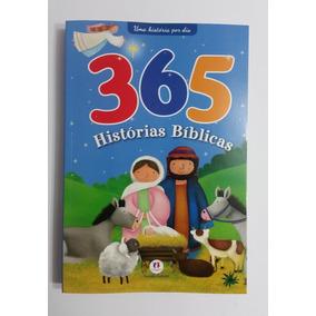 Livro - 365 Histórias Bíblicas Para Crianças