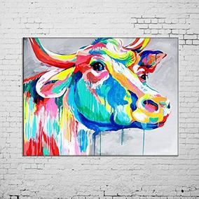 Pintura Al Óleo Pintada A Mano De Los Animales Del Arte De