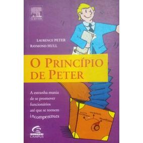 Livro Principio De Peter Administração Empresas + Dvd Brinde