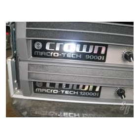 Crown Macro Tech 12000i Amplificador