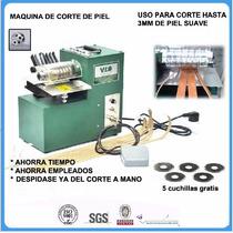 Máquina De Corte De Cuero Para Accesorios De Bolsa Y Zapato