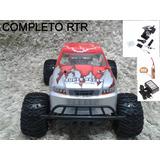 Automodelo Eletrico 1/8 Monster Truck 4x4 Turnigy