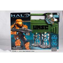 Halo Mega Blocks (coleccionistas) Maleta Verde