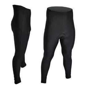 Licra Pantalón Negro Con Badana Para Ciclismo Rollmarket.