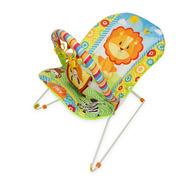 Cadeira Cadeirinha Descanso Musical Bebê Safari Com Móbile