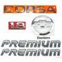 Emblemas Corsa Sedan 1.8 + Premium + Gravata - 2003 À 2007