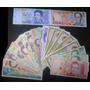 Coleccion 20 Billetes Antiguos Circulados Y Unc Bs.180.000.