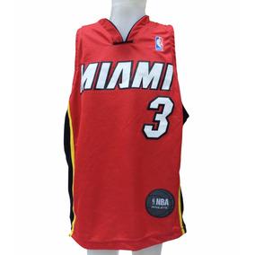 Musculosa Basquet Miami Heat Oficial Nba Niño - Mofn