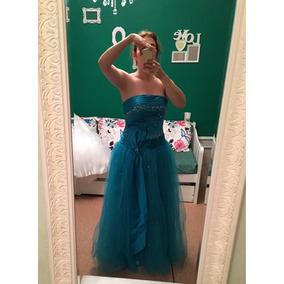 Soñado Vestido De Quince / Fiesta 15 Años Nuevo Sin Uso Azul