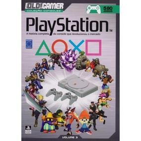 Livro Old Gamer Coleção Consoles Playstation Volume 3