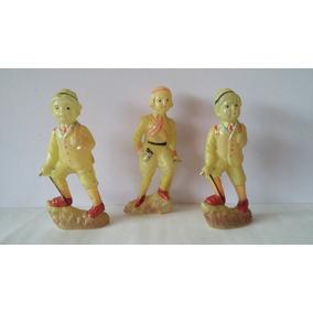 3 Muñecos De Juguete Hechos De Celuloide (sololoi) De 12 Cm