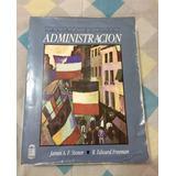 Libro Administración- Stoner Y Freeman, Original 5° Edición