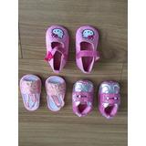 Zapatos Para Bebe (niñas) Talla 0-6 Meses
