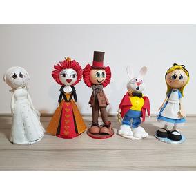 Alice Nos País Das Maravilhas - Bonecas Eva Para Decoração