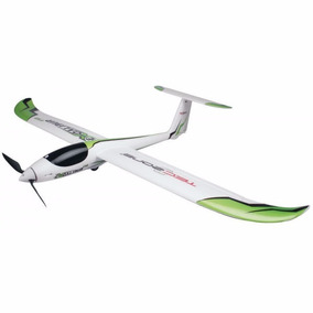 Aeromodelo Planador Eletrico Treinador Completo 1,10 Mt Asa