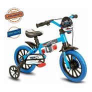 Bicicleta Infantil Nathor Aro 12 Menino Veloz De 2 A 5 Anos
