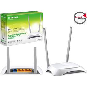 Router Tp-link Tl-wr840n 300mbps Boton Wps/ Wds Banda Ancha