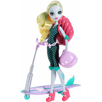 Monster High Lagoona Blue E Scooter Surf To Turf Mattel