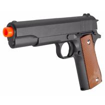 Pistola Airsoft Gun, Modelo G13, C/2000 Bbs