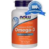 Fish Oil Omega3 Now 100 Caps Eua S/ Metais Pesados Fr Grátis