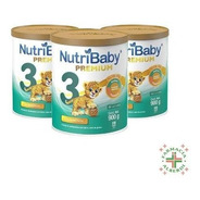 Combo Nutribaby 3 X 900 Gr. X 3 Unidades
