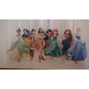 Princesas Da Disney10 Display De Festa Para Mesa + Brinde