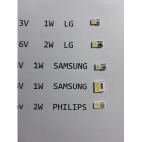 Pack X300 Leds Surtidos Tv Backlight Lg Sam Philips Etc