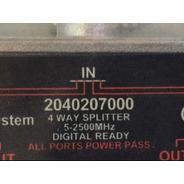 Splitter Coaxial 1x4 1 Divisor 5-2500mhz Alta Telesystem