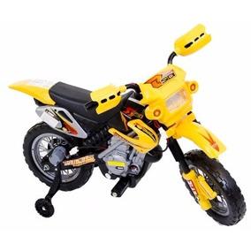 Moto Elétrica Infantil Amarela!