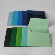 30 Und. Envelopes (convite 10x10cm) Aba Reta - Color Plus