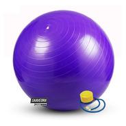 Pelota 65cm+inflador Pilates Yoga Esferodinamia Reforzada