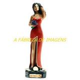 1 Imagem Rosa Caveira 20c 1 Iansã 1 Estatua Ogum Mege 20c