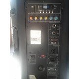 Caixa Amplificada Csr4000a Ativa 300w Alto Falante 15 Polega
