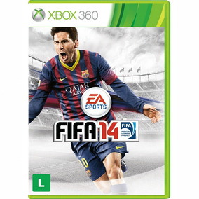 Fifa 14 Xbox 360 Original Completo Mídia Física