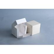 Caja 1 Pieza 10x10x10 Cm (x50 U.) Tortas Mini Porciones Tazas - 045 Bauletto