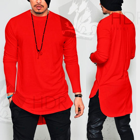 Camiseta Camisa Oversized Longline Maculina Ny Kings Top