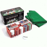 Jogo De Poker Lata 200 Fichas