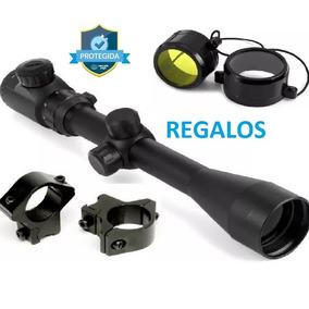 Mira Telescopica 3-9x40 Reticula Iluminada Rifle Co2 Diabolo