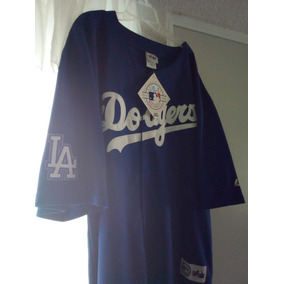 Jersey Los Angeles Dodgers Oficial Genuina Majestic