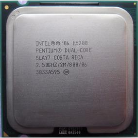 Procesador Intel Dual Core E5200 2.5gh/2mb/800 Socket 775