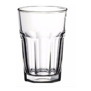 Vaso Facetado X12 400ml Transparente Durax Gaseosa Bar Resto