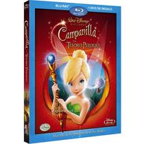 Blu Ray Dvd Combo Thinker Bell Y El Tesoro Perdido Tampico