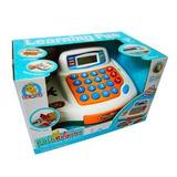 Juguete Caja Registradora Con Luz Y Sonidos Con Calculadora