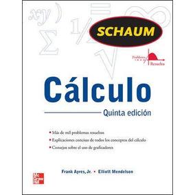 Libro Cálculo / Serie Schaum / Mcgraw Hill