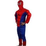 Disfraz Batman Spiderman Adultos- Ideal Animador De Fiestas